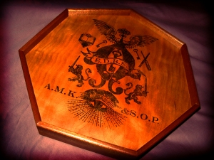 Seven Sided Divining Board by Tony Peterson