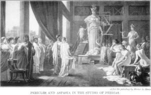 Hector Leroux Pericles and Aspasia
