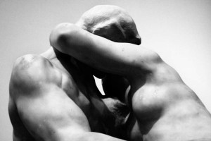 detail of The Kiss by Rodin, my personal Cyprian Master