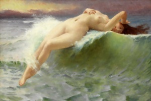 """La Vague"" (The Birth of Venus by Guillaume Seignac"
