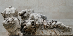 The Parthenon's Three Graces from the West pediment