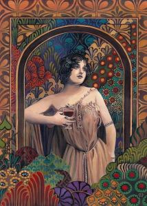 Meditrina Roman Goddess of Wine by Emily Balivet