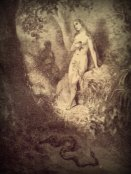 "Etching from Milton's ""Paradise Lost"""