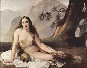 Mary Magdalene by Francesco Hayez